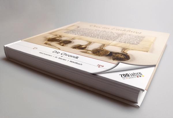 Werbeagentur Grafikpunkt - Punktlandung St. Marien Chronik