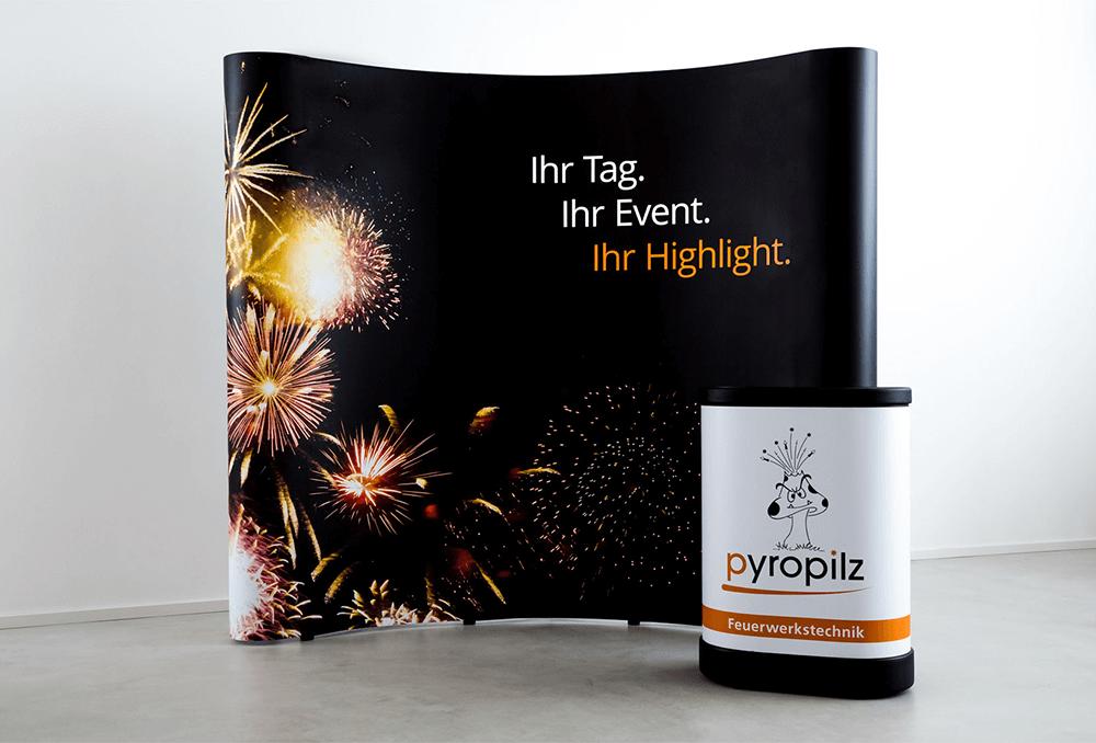 Werbeagentur Grafikpunkt - Punktladung Pyropilz