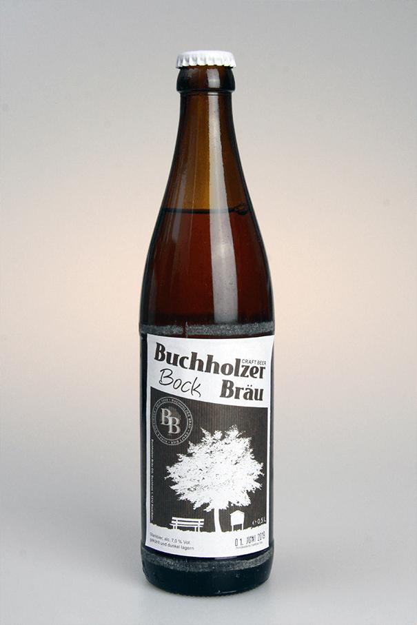 Grafikpunkt - Buchholzer Bräu, Bock