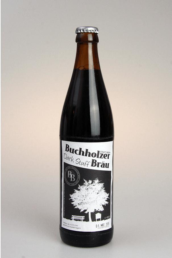 Grafikpunkt - Buchholzer Bräu, Dark Stuff