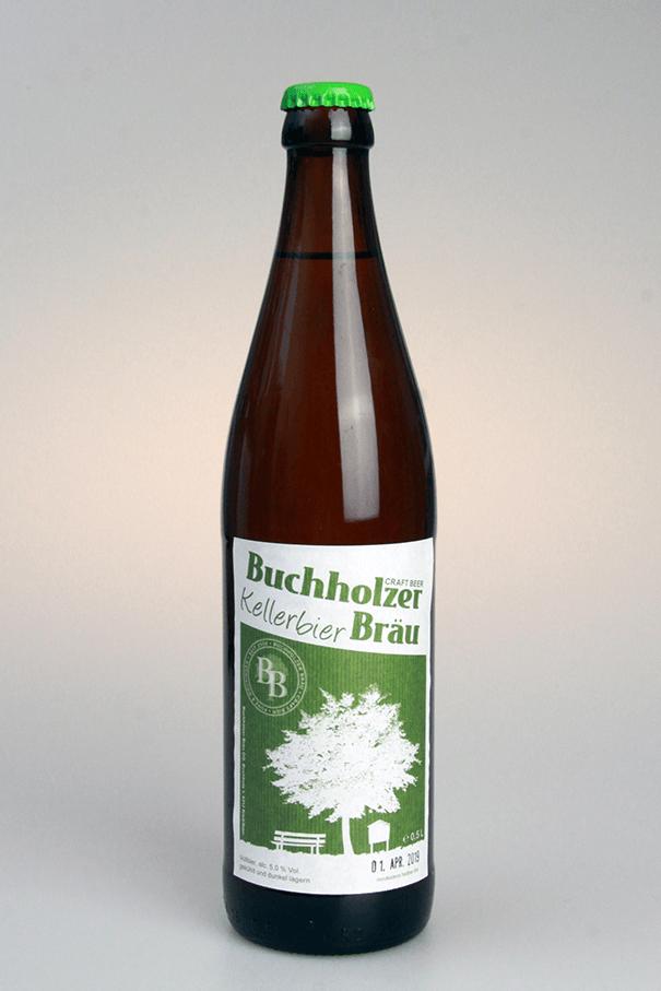 Grafikpunkt - Buchholzer Bräu, Kellerbier