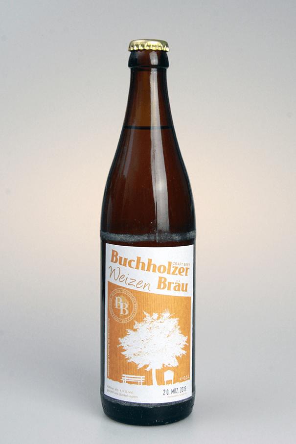 Grafikpunkt - Buchholzer Bräu, Weizen