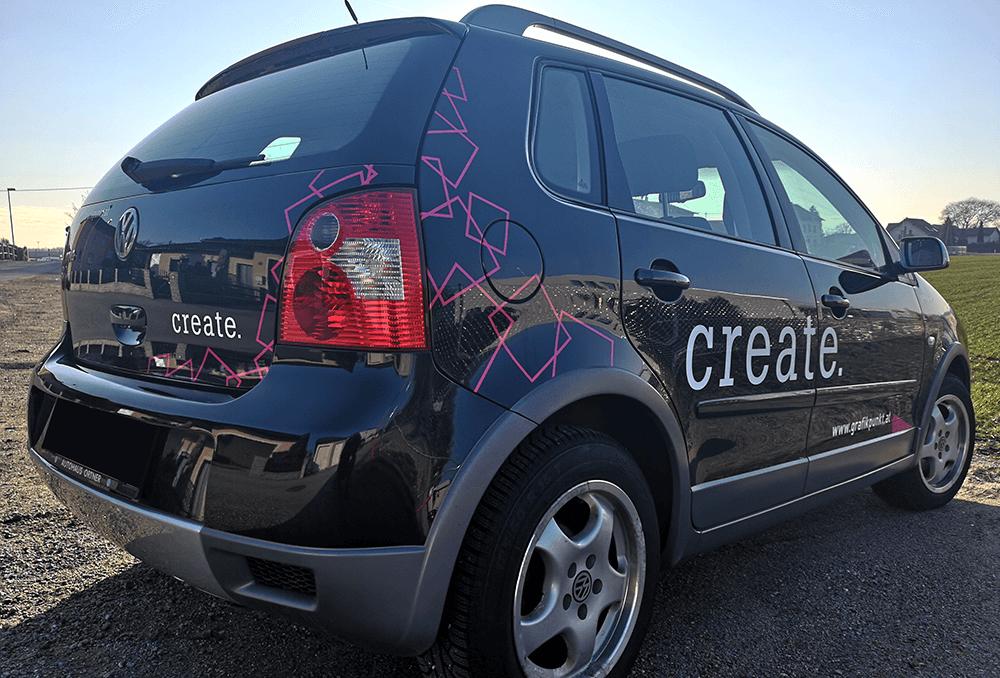 Grafikpunkt - Autobeklebung