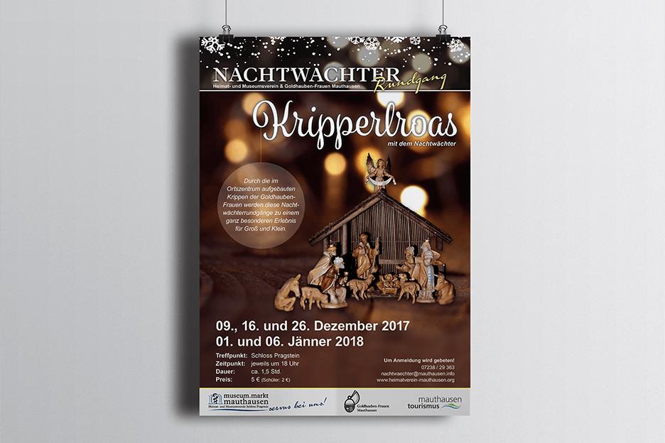 Grafikpunkt - Museum Mauthausen Plakat Gerstmayr