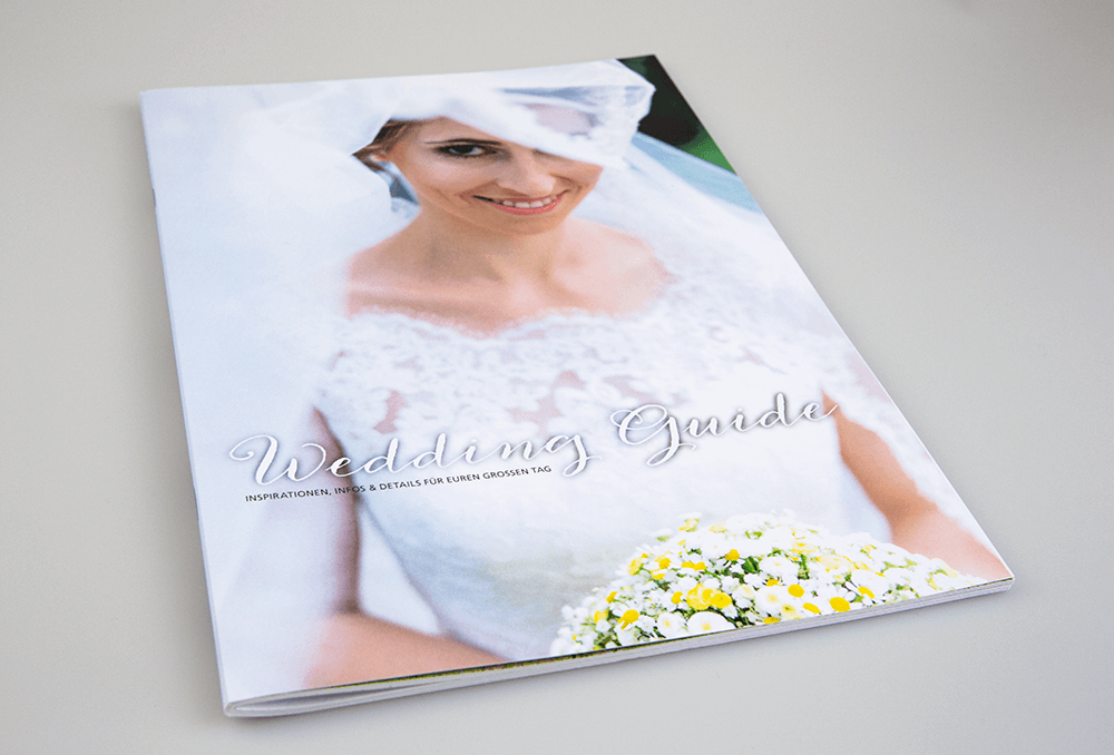 Werbeagentur Grafikpunkt - Punktlandung Wedding Guide Cover
