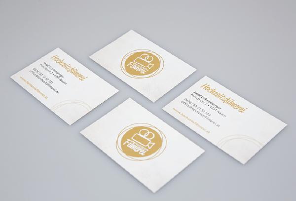 Werbeagentur Grafikpunkt - Punktlandung Hochzeitsfilmerei Visitenkarten