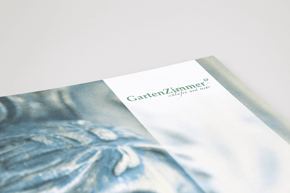 Grafikpunkt - Marksteiner Gartenzimmer, Broschüre