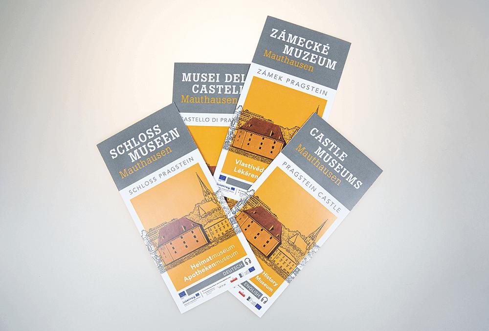 Grafikpunkt - Heimat- und Museumsverein Mauthausen, Folder